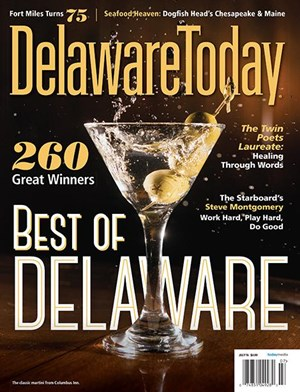 Delaware Today   (Today Media)   ,      Wilmington, DE, circ. 141,958  1/02  –  5/02  Editorial Intern