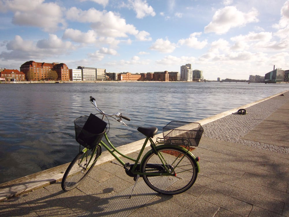 My bike on Islands Brygge