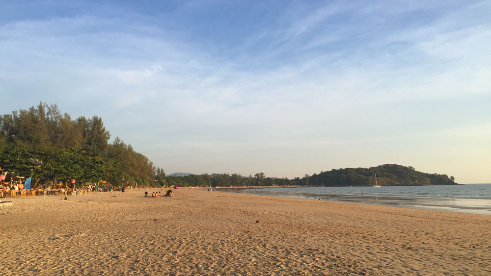 Klong Nin Beach—just a gorgeous stretch of powdery sand