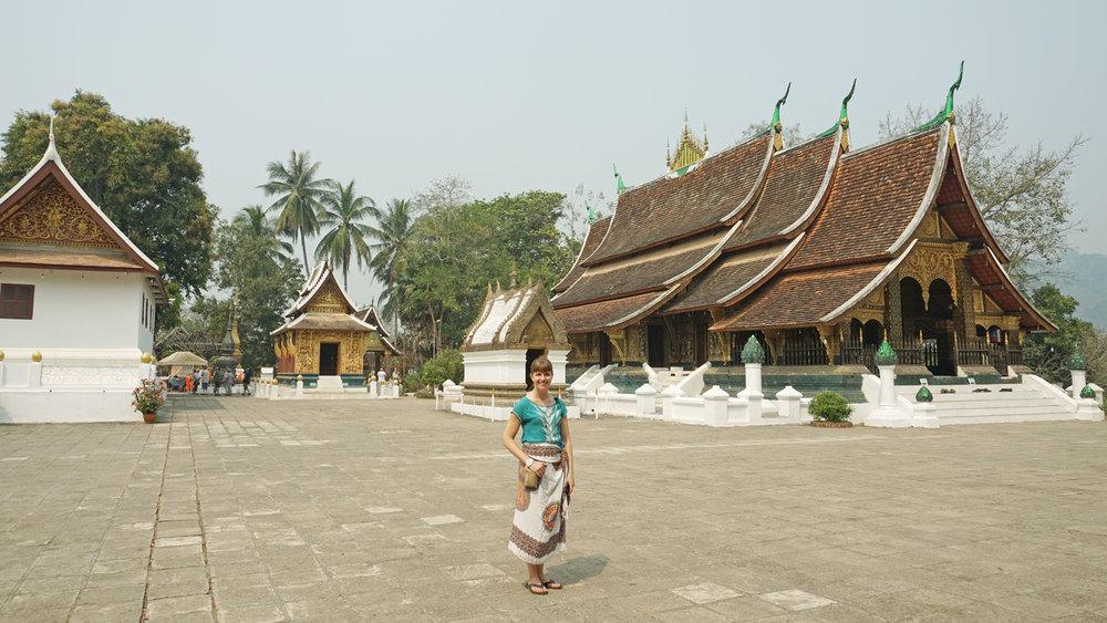 At Wat Xieng Thong