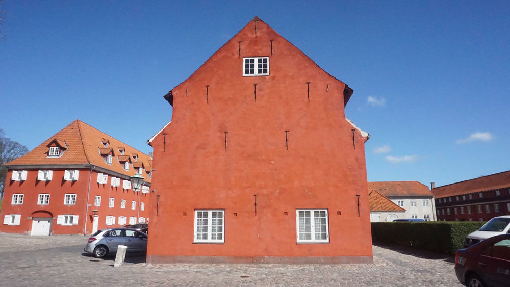 Buildings at Kastellet