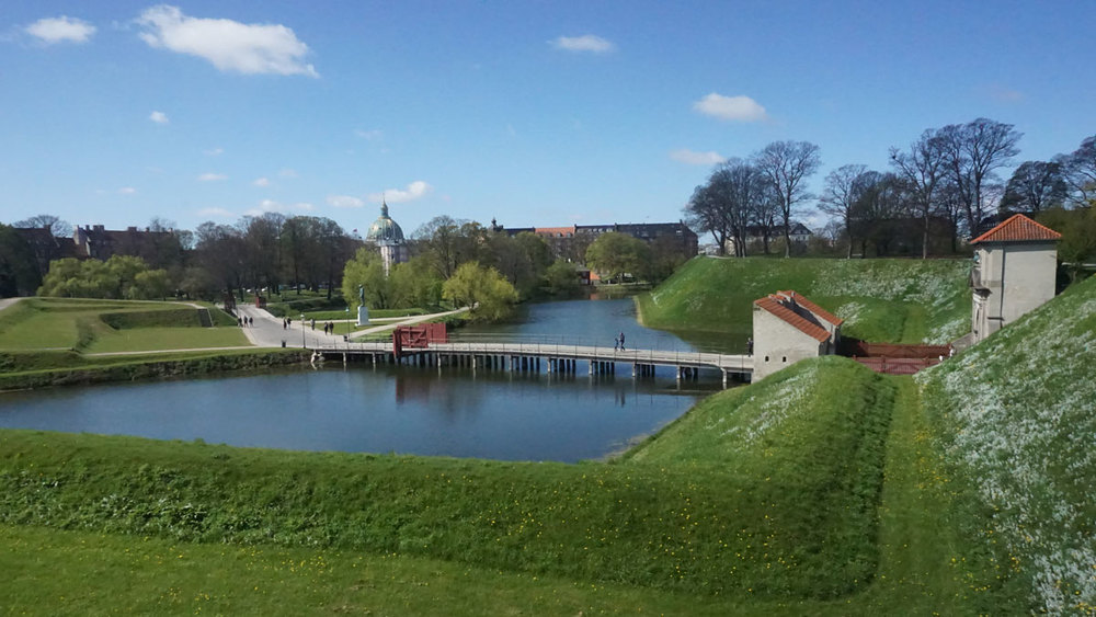 The embarkments around Kastellet
