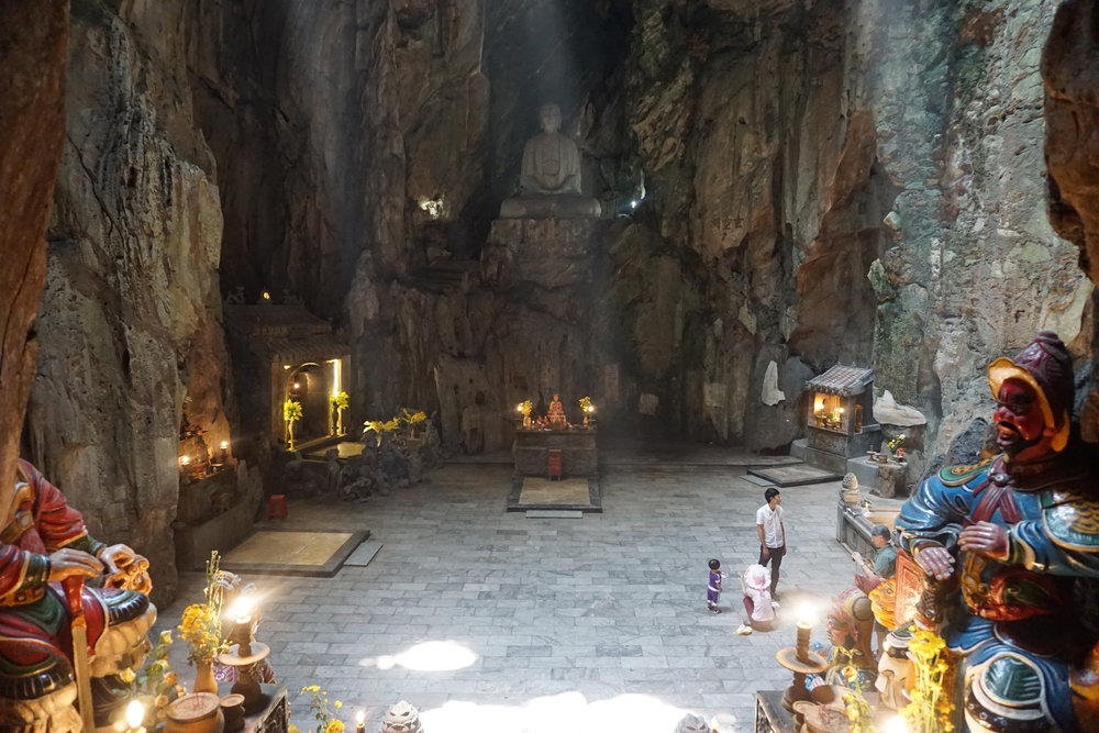 Inside the Marble Mountains, Da Nang