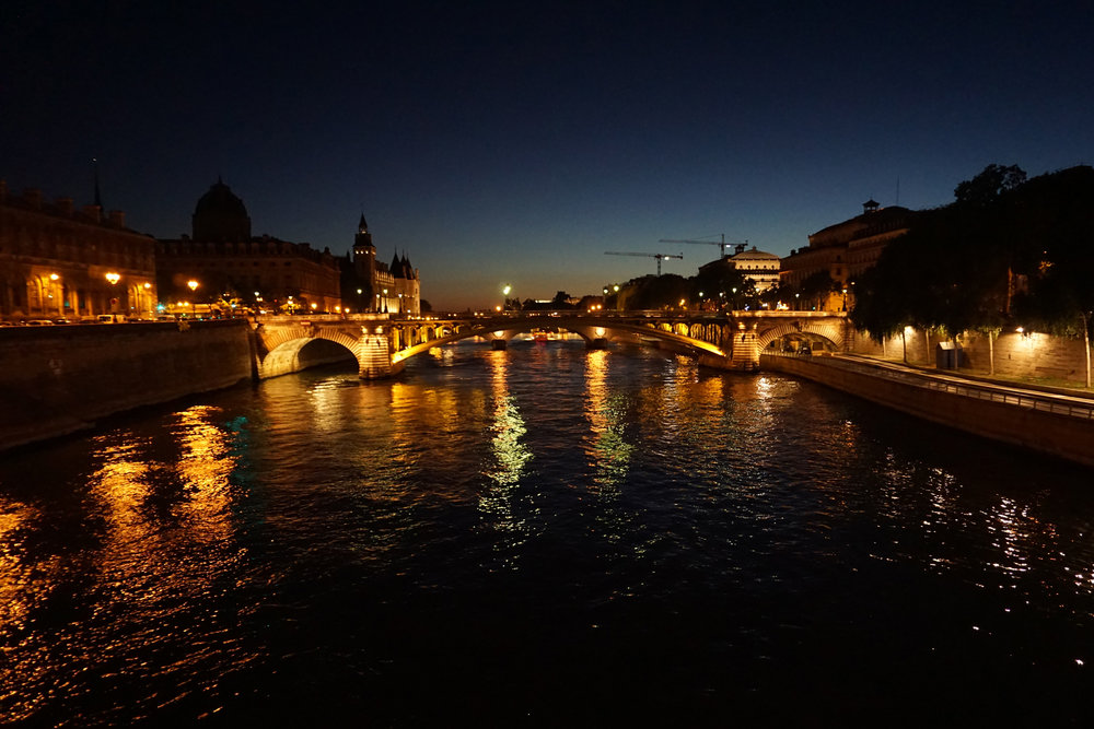 One of the most beautiful cities at night - Paris