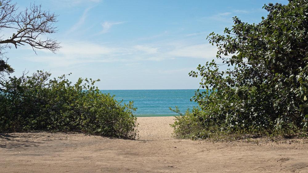 The beach awaits...