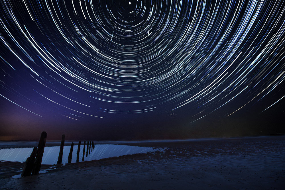Broncaster Star Trails