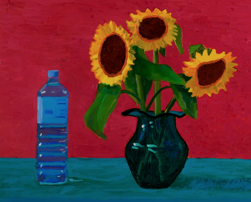 Original Painting by David Hockney