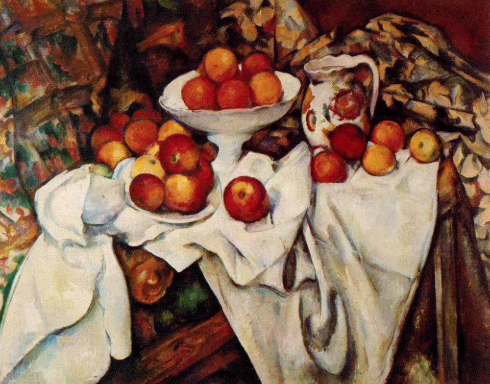 Original Painting by Paul Cezanne