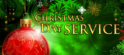 Worship with us on Christmas Day!  10:00 a.m.