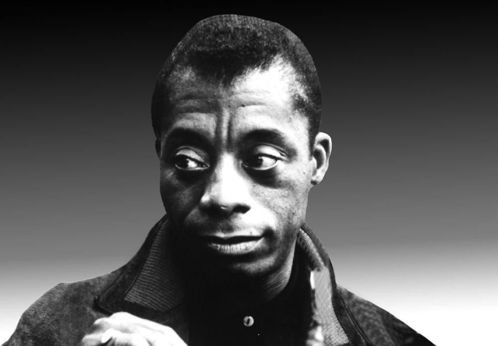 Civil rights leader James Baldwin