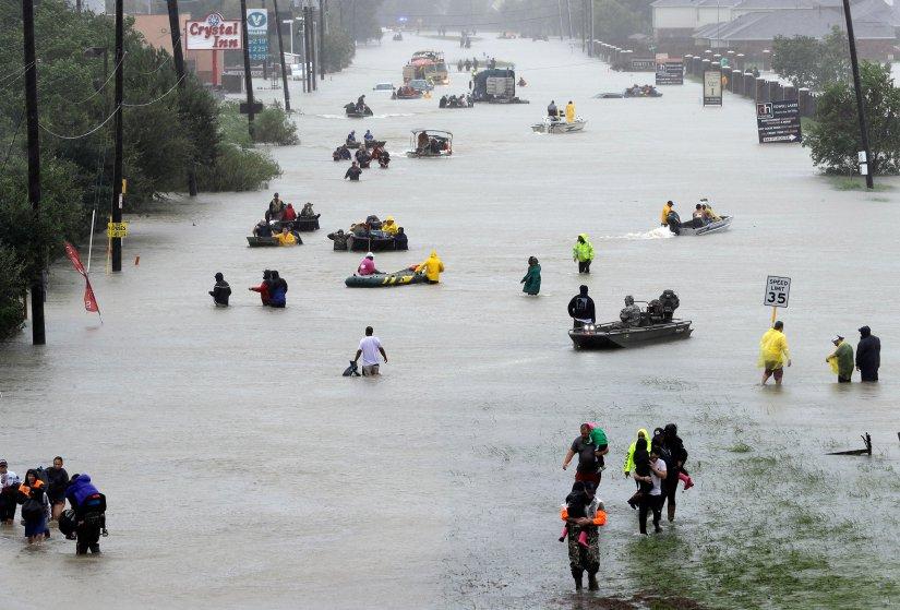 Devastation wrought by Hurricane Harvey