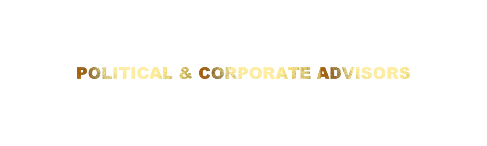 POLITICAL & CORPORATE ADVISORS