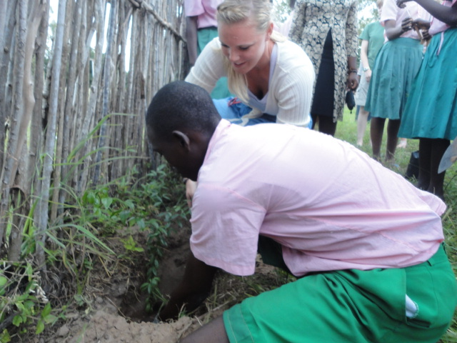 The tree planting