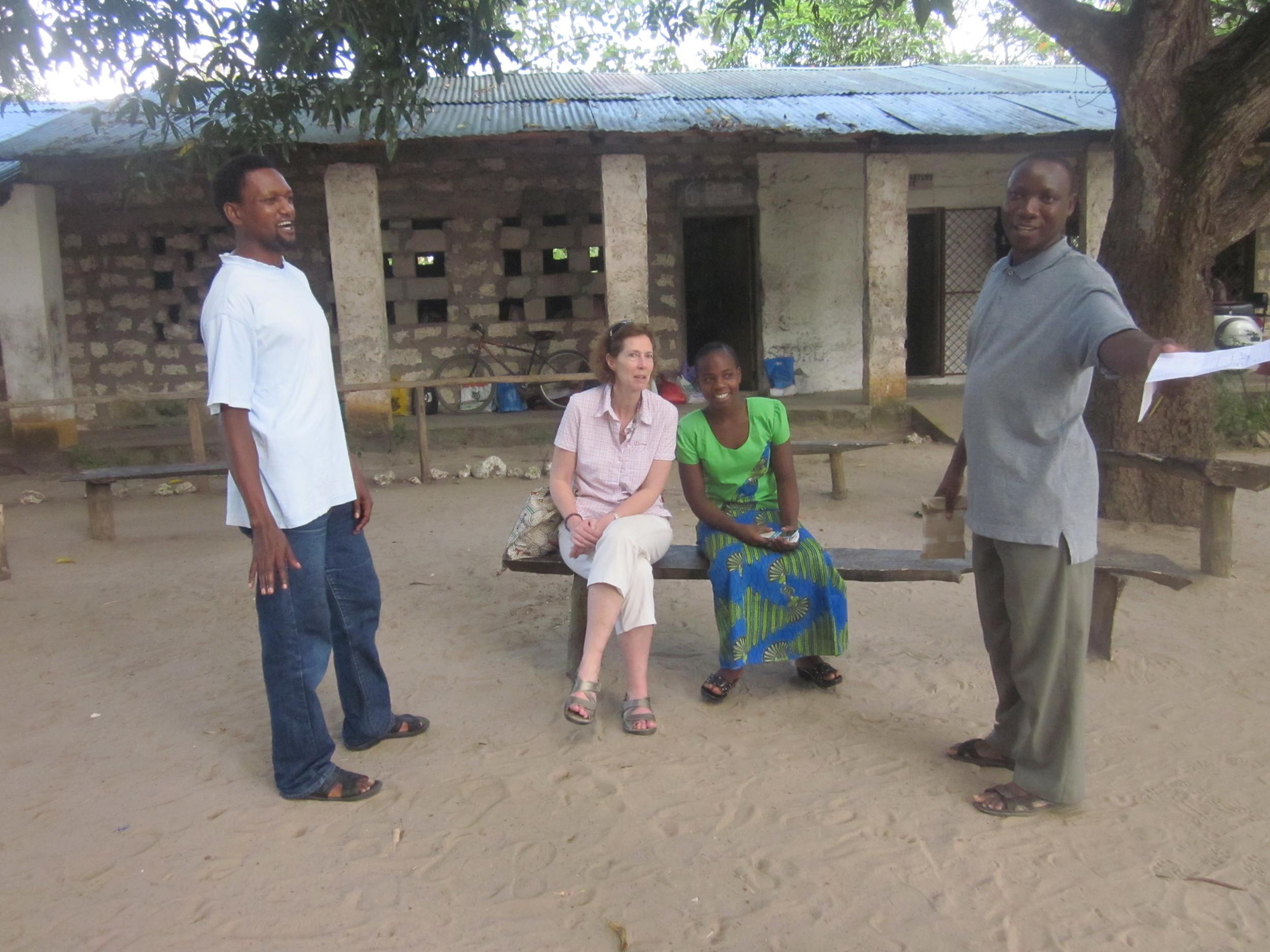 the team at Mijomboni primary school