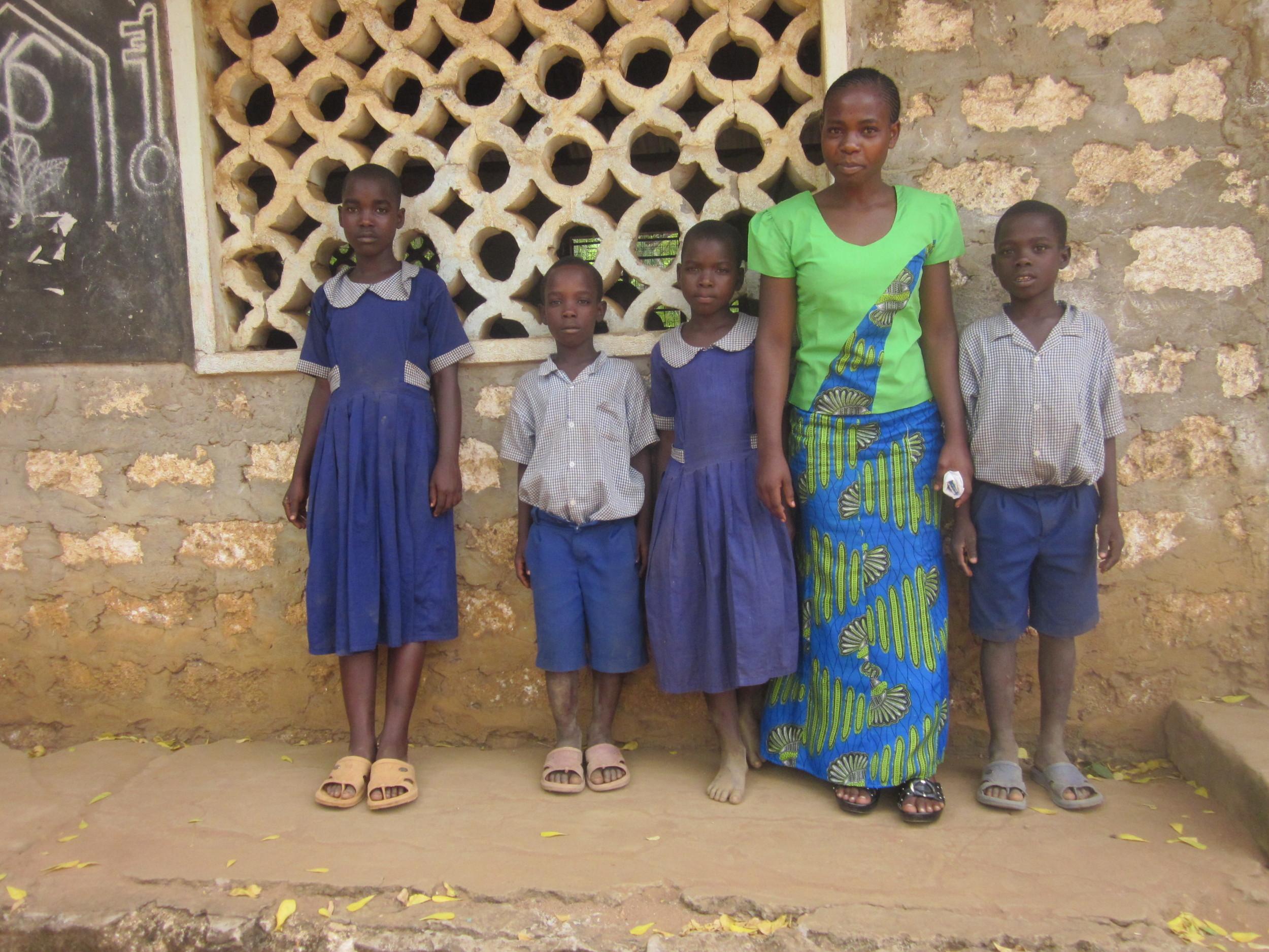 Furaha, ASSETS graduate at her former school