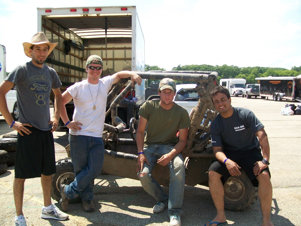 The 2009 BU Baja Team