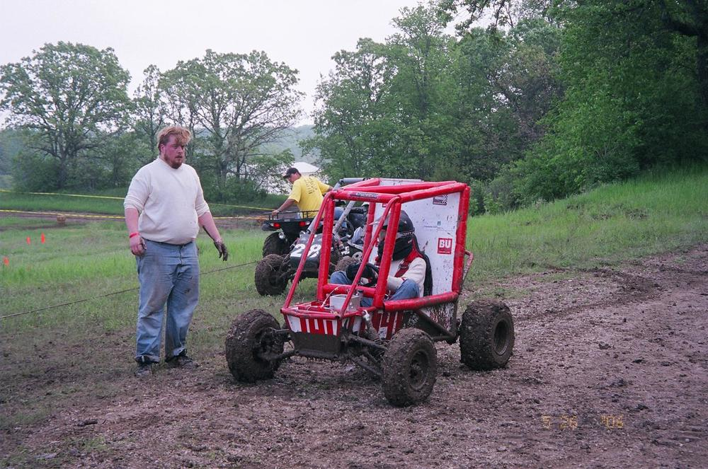 The Red Car at competition in 2006
