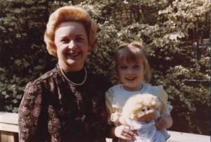 Grandma & Audrey, my CPK