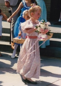 Flower Girl Marisa!!