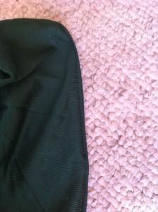 Sleeve's got a new seam!!