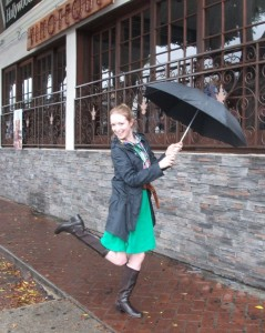 Singing in the Rain...Literally!