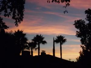 Mmm...sunset :)
