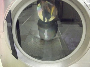 Oh yeah, it's dryer time!