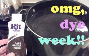 Dye Week!