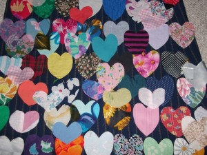 Layers and layers of hearts!