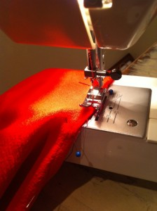 Fire Sewing!