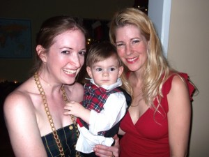 Me with my little man BB & his mama :)