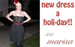 New Dress A (Holi-)Day