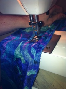 Sew down!