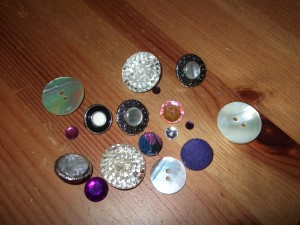 Gems, buttons and jewels!!