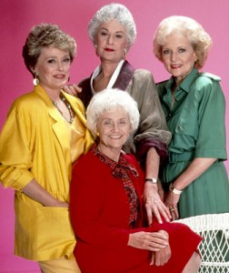 The Golden Gals knew how to rock the shoulder pads!