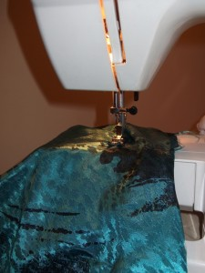 New seams and a brand new hem!