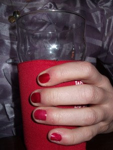 Nails match!