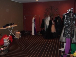 Racks of gowns!!
