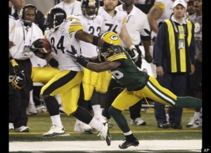 Green Bay Packers!! Courtesy of AP