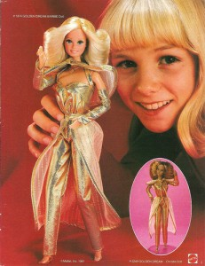 Golden Dreams Barbie!
