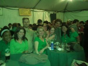 Green crew!