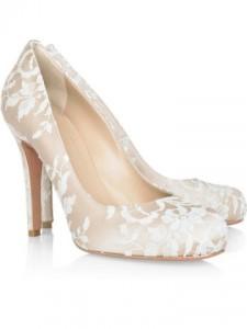 Her heels...