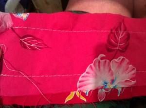 Sewed up!