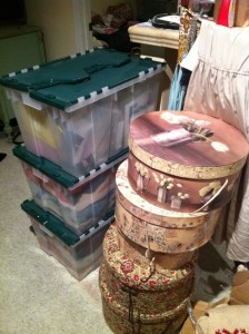 The Leaning Tower of Hat Boxes!