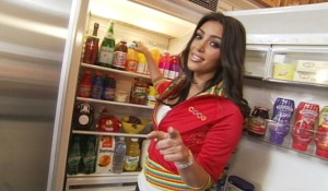 Kim's Cribs Fridge!!