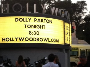 Another night at the Bowl...