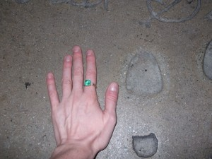 Ava Gardner's Petite Toe!
