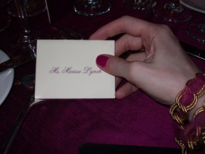 Place Setting!!