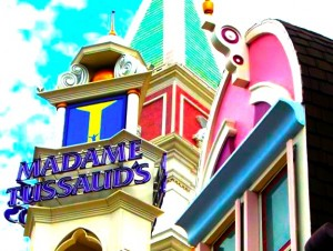 Madame Tussaud's, aka the Museum of Wax!!