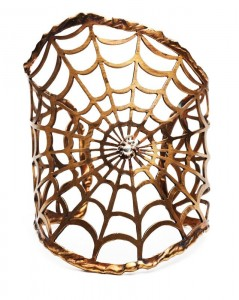 Spiderweb Cuff by Gara Danielle
